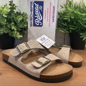 Skechers Granola Two Strap Luxe Foam Sandals
